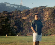 me in Hollywood